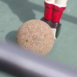 Location Bonzini B60 : Zoom sur la balle de liège