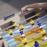 Location baby foot ludique : Deux buts de chaque coté !