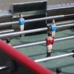 Location de baby foot Renée Pierre : La position du gardien est importante !